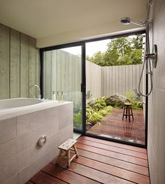 15 Awesome Outdoor Bathroom Design Ideas