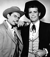 """Jack Kelly and James Garner starred in the T.V. series """"Maverick"""""""