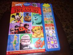 *DISNEY* Sound Storybook TREASURY!