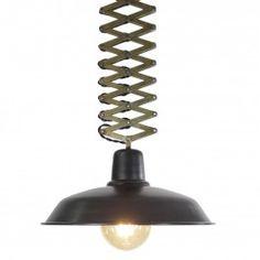 Lámpara Colgante Ballesta - Negra