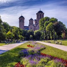 Tašmajdan park - Belgrade