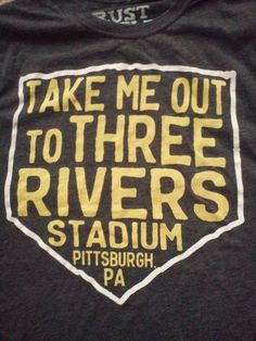 Pittsburgh Pirates Three Rivers by RustBeltCotton on Etsy, $18.00