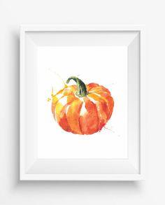 Pumpkin,Pumpkin print,Kitchen Decor,Culinary Print,farm decor,Corn  Spinach Printable,Vegetable Print,digital prints
