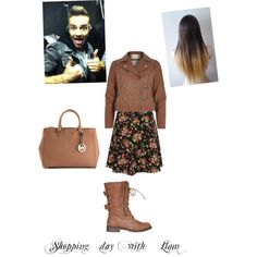 Shopping day with Liam by kaylee-schroeder on Polyvore featuring polyvore, fashion, style, River Island and MICHAEL Michael Kors