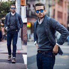 Уличная мода: Мужской стиль: модные образы на осень-зиму 2014-2015