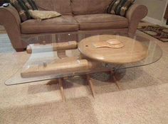 Enterprise Coffee Table for your Man Cave, aka 10-FORWARD