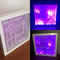 Light box frame