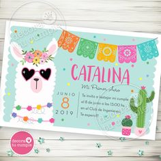Kit imprimible llama llamitas party cool Hippie Birthday Party, Mexican Birthday Parties, Llama Birthday, Birthday Party Games, 9th Birthday, Mexican Party, First Birthday Parties, Birthday Party Invitations, First Birthdays
