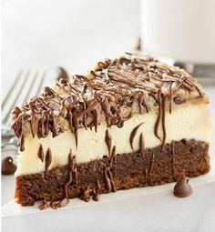 O.M.G! Who needs a BF when you a #Brownie Bottom Cookie Dough #Cheesecake. Nom Nom Nom #dessert