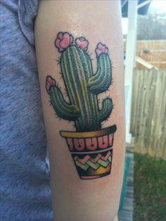 #cactus #tattoo