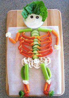 Veggies & Dip... How cute!