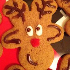 upside down gingerbread man :)