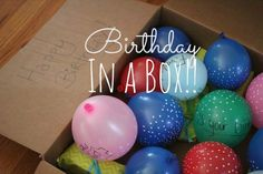 our life in a click: {Pinned} Birthday in A Box