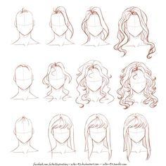 Commissions info | Facebook | Tumblr | My OCs Done just for fun, because lately many people asked me about drawing hair, especially wavy/curly. I hope it can help! Dow...