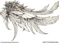 Angel wing tattoo idea maybe?
