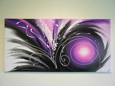 Image result for toile abstraite mauve Color Swirl, Decoration, Abstract Art, Tapestry, Wall Art, Projects, Animals, Canvas Paintings, Recherche Google