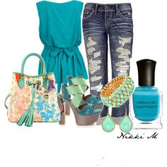 """Untitled #63"" by nichole-menard on Polyvore"