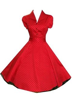 Cute 50s dress. @Brittany Cane lulz bridesmaids dress?