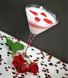Valentine's Martini, Strawberry and white chocolate martini