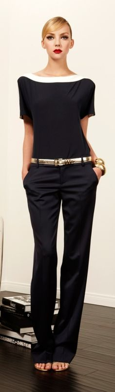St. John: Chic Work Outfit