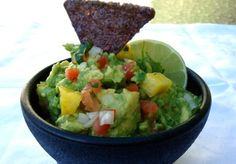 Pineapple Guacamole