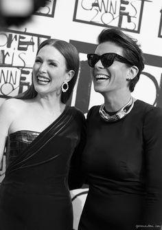 Cannes, Julianne Moore / Garance Doré