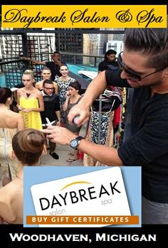 @DaybreakSalon has the #EdgeYouDeserve in Woodhaven, Michigan. Get a gift certificate, this year.