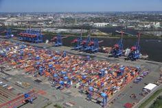 Port Hamburg: HHLA Container Terminal Altenwerder.
