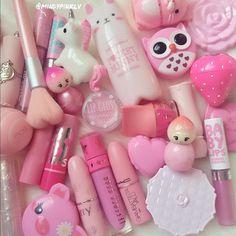 Edgy Makeup, Cute Makeup, Everyday Makeup For School, Kawaii Makeup, Mood Colors, Kids Makeup, Baby Lips, Art Of Beauty, Lots Of Makeup