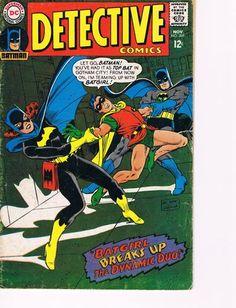 Vintage Detective Comics Batman Comic 369 G Batgirl   eBay