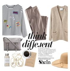 """""""Think different"""" by punnky ❤ liked on Polyvore featuring Très Pure, Chanel, 3.1 Phillip Lim and H&M"""