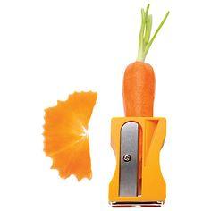 Karoto sharpener & peeler - Kitchen gadgets for fun cooking at Monkey Business Cool Kitchen Gadgets, Cool Gadgets, Kitchen Tools, Cool Kitchens, Kitchen Dining, Kitchen Sets, Creative Kitchen, Un Diner Presque Parfait, Gifts Under 10