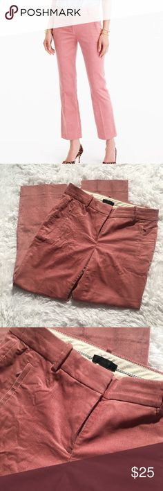 J. Crew Sammie Mauve Corduroy Pants Size 2. Sooo cute, the fit is adorable, no flaws or signs of wear. Sold out J. Crew Pants
