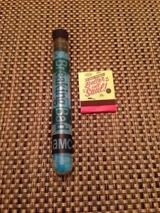 Breaking Bad tube with blue candy crystals