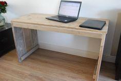 steigerhout onder kastje bureau - Google zoeken