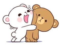 With Tenor, maker of GIF Keyboard, add popular Milk And Mocha animated GIFs to your conversations. Share the best GIFs now >>> Cute Bear Drawings, Cute Couple Drawings, Cute Couple Cartoon, Cute Love Cartoons, Kawaii Drawings, Calin Gif, Gif Mignon, Gif Lindos, Cartoon Mignon