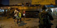 Soldados ocupan una favela de Río de Janeiro