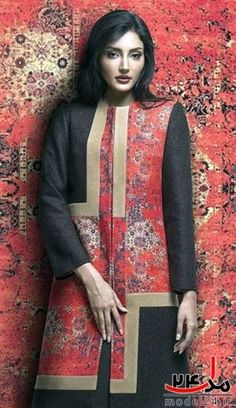La moda iraní según Anna Thani. Iranian Women Fashion, Black Women Fashion, Ethnic Fashion, Boho Fashion, Womens Fashion, Fashion Design, Modest Fashion, Hijab Fashion, Fashion Dresses