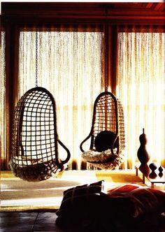 Indoor Bedroom Swing Chairs