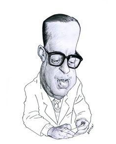 sérgio buarque de holanda - caricatura