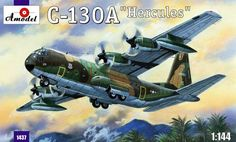 Lockheed C-130A Hercules. A Model, 1/144, injection, No.1437. Price: 18,89 GBP.