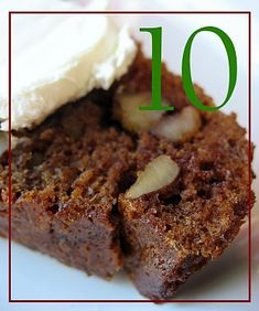 Advent Day 10: Date Nut Bread | Big Red Kitchen - a regular gathering of distinguished guests