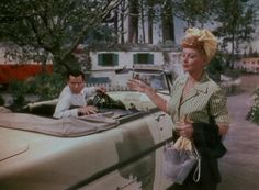 The Long, Long Trailer - Lucille Ball and Desi Arnaz Golden Age Of Hollywood, Classic Hollywood, Old Hollywood, Lucy Movie, William Frawley, Queens Of Comedy, Lucille Ball Desi Arnaz, Lucy And Ricky, Retro Trailers
