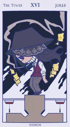 Shinra Kusakabe, Joker, Slayer Anime, Cool Cartoons, Character Drawing, Kawaii, Fire Emblem, Tarot Cards, Aesthetic Anime