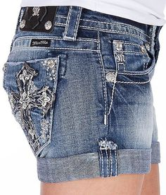 Miss me shorts for summer love them all, mine are darker denim don't care for light denim look dated to me #missmeshorts