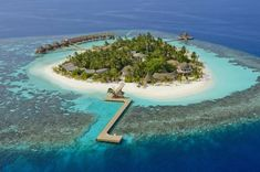 Kandolhu Island is an exquisite luxury resort in the Maldives, a tiny private island showcasing a beautiful white sand beach and pristine coral reef. Maldives Beach, Visit Maldives, Maldives Resort, Maldives Travel, Maldives Islands, Maldives Honeymoon, Places To Travel, Places To Visit, Free Vacations