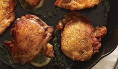 Perfect Pan-Roasted Chicken Thighs | Bon Appetit