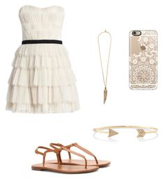 """Love this"" by soccer-tumblr ❤ liked on Polyvore featuring moda, BCBGMAXAZRIA, Yves Saint Laurent, Casetify, Roberto Cavalli y Express"