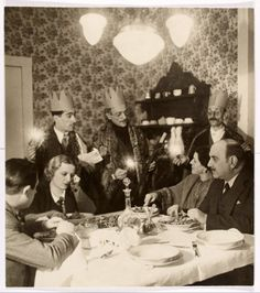 Eduardo De Filippo - Scena dalla Commedia: Natale in casa Cupiello - con Titina e Peppino
