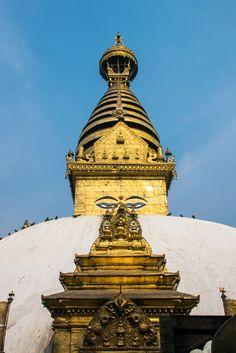Stoepa van Swyambhunath, Kathmandu
